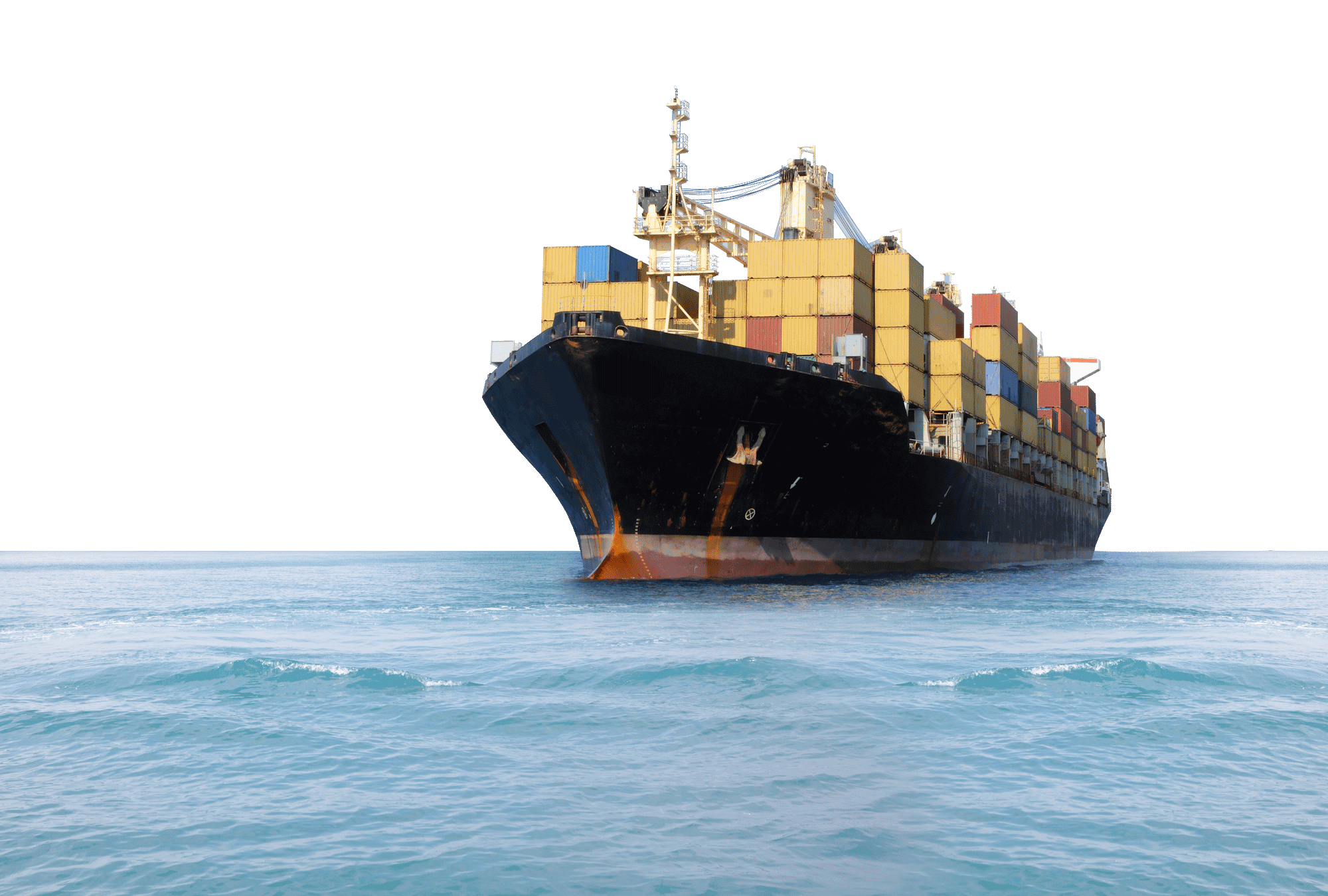 Freight Ship-19 - Cargo Ship PNG HD