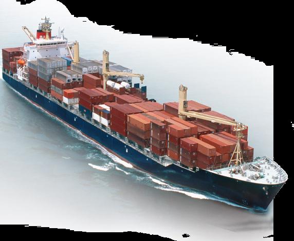 Cargo Ship PNG HD - 121636