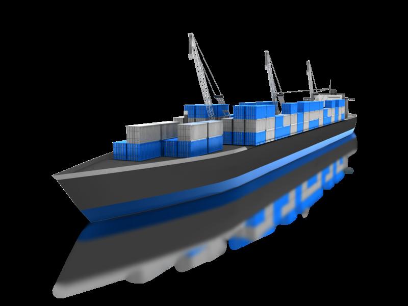 Cargo Ship PNG HD - 121632