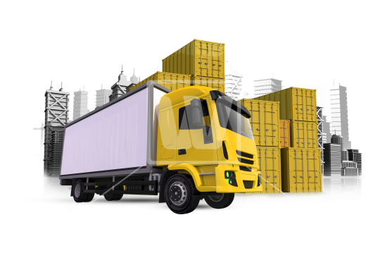 Cargo Truck PNG - 8212