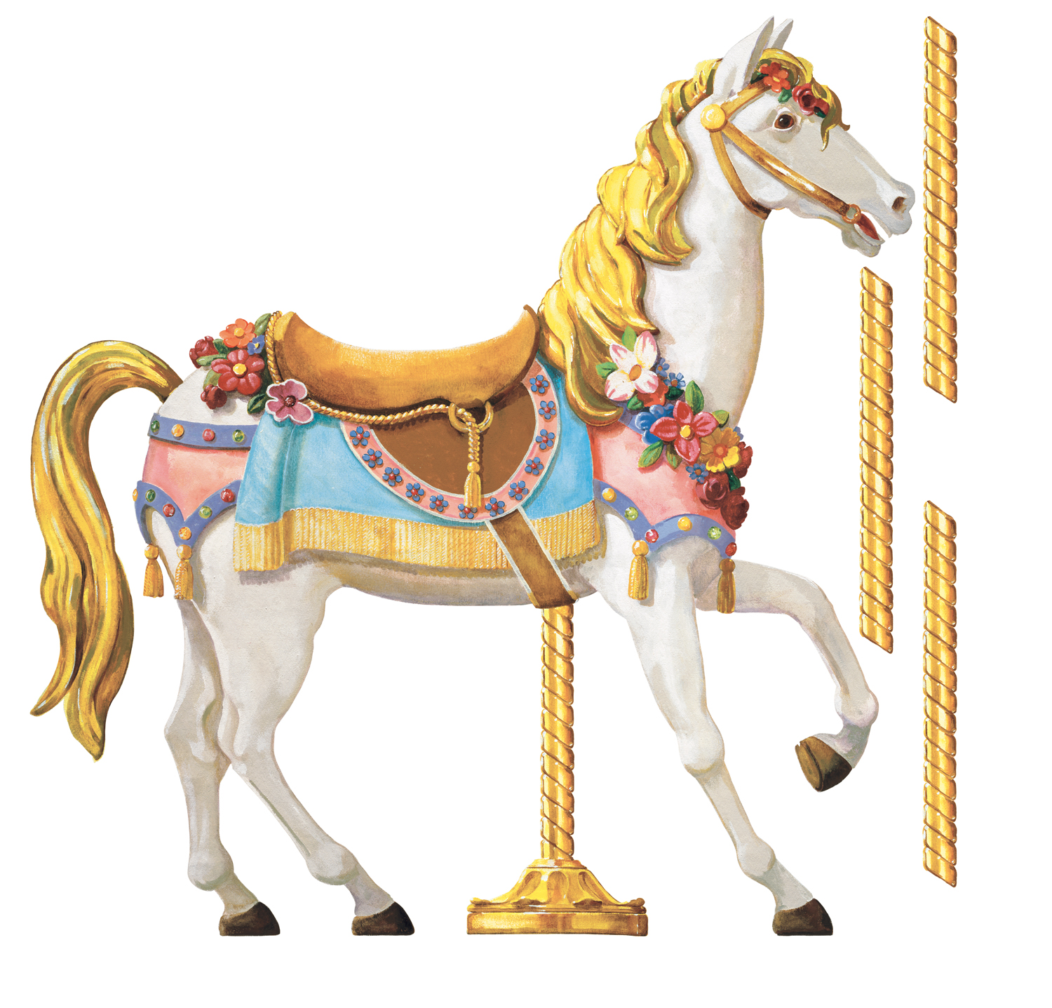 Carneval clipart horse carousel #8 - Carousel Horse PNG HD