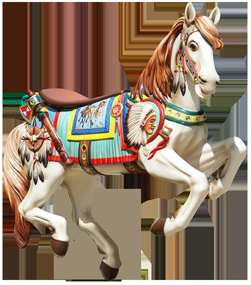 Carousel Horse - Carousel Horse PNG HD