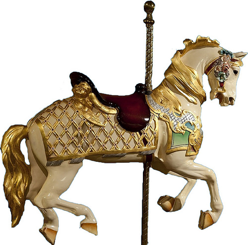 Carousel Horse PNG HD