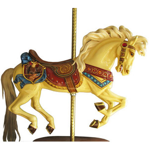 New Looff carousel horse, prewar Japanese toys dominated top 10 in Mosby u0026  Co. - Carousel Horse PNG HD