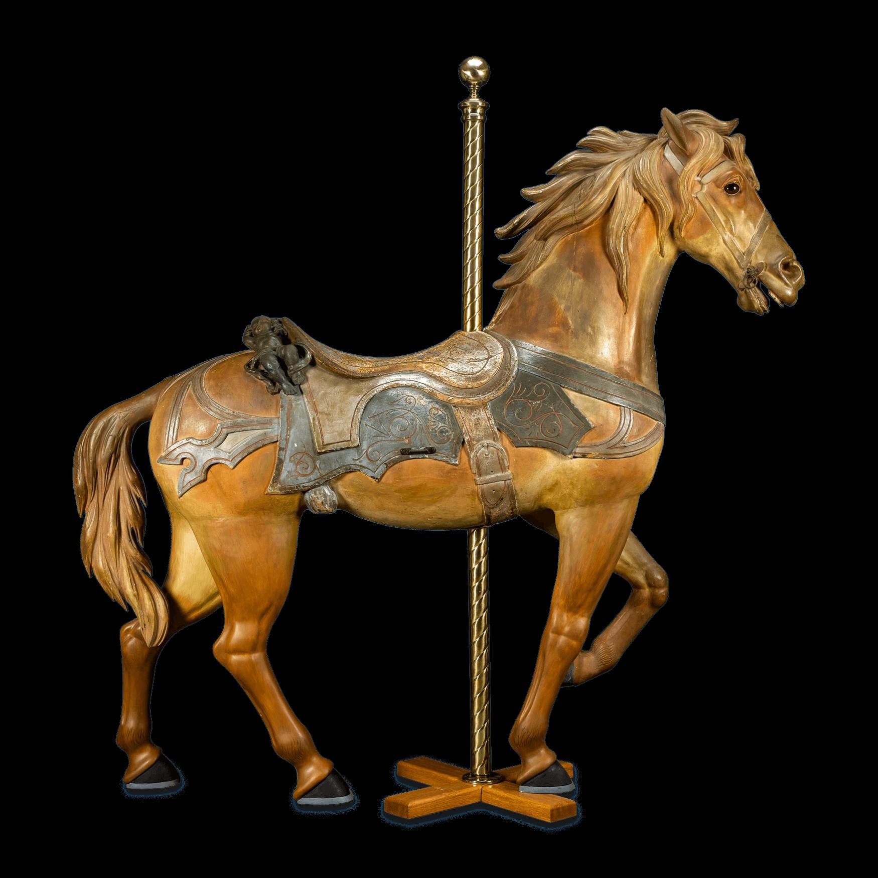 Philadelphia Toboggan Company Carousel Horse - Carousel Horse PNG HD