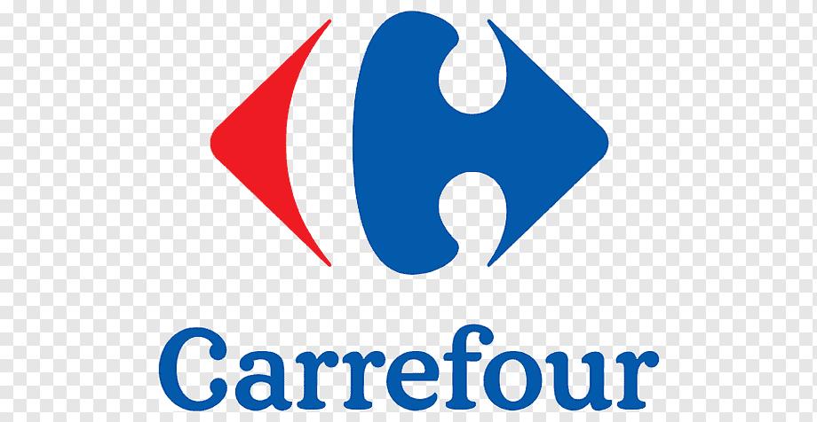 Carrefour Online Marketing Business Hypermarket, Marketing, Text Pluspng.com  - Carrefour Logo PNG