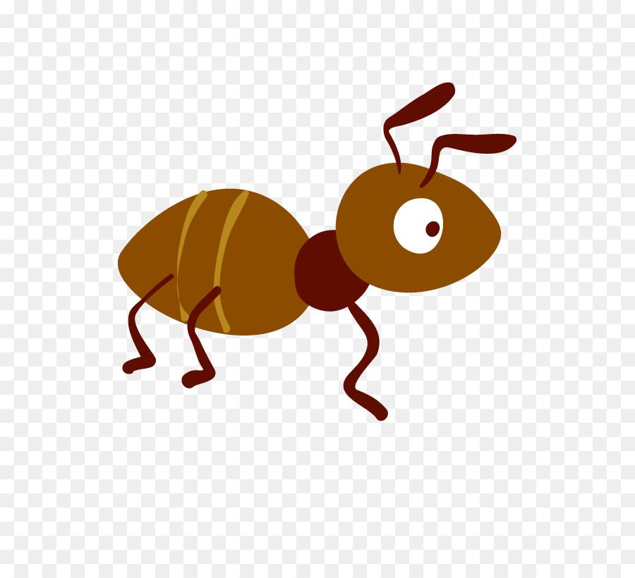 Ant Cartoon - ant - Cartoon Ant PNG