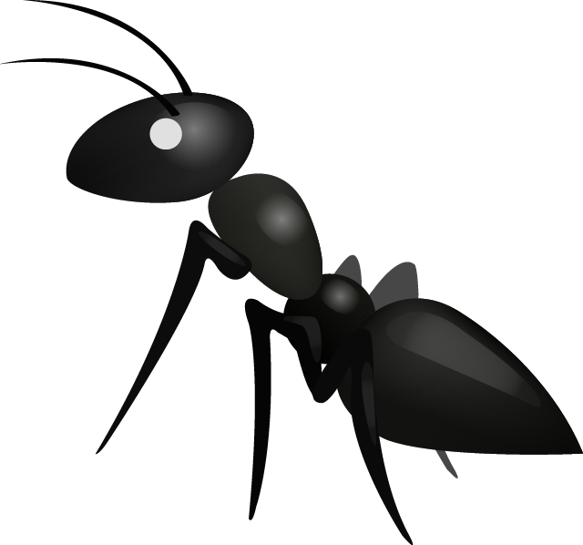 Ant Emoji - Cartoon Ant PNG
