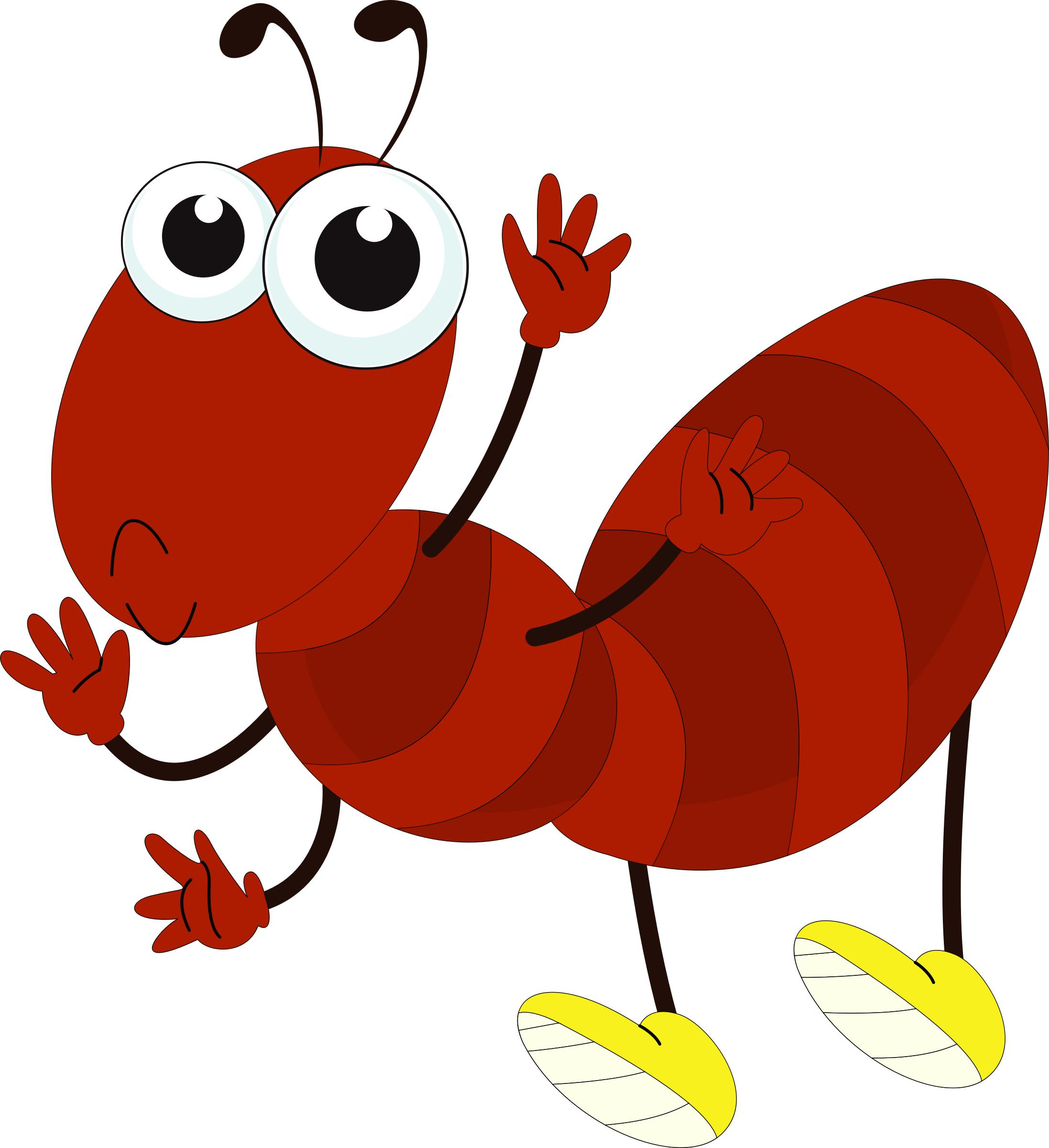Cartoon Ant PNG - 161637