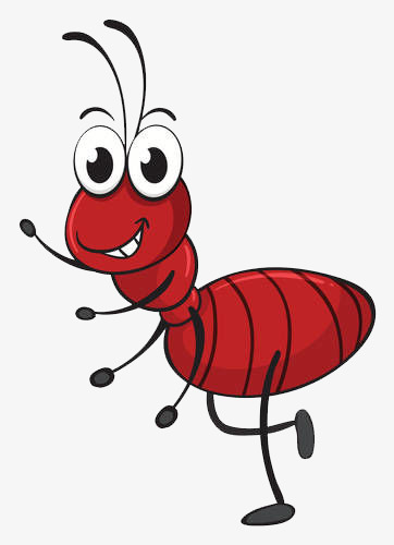 happy ants, Ant, Workers, Cartoon PNG Image and Clipart - Cartoon Ant PNG