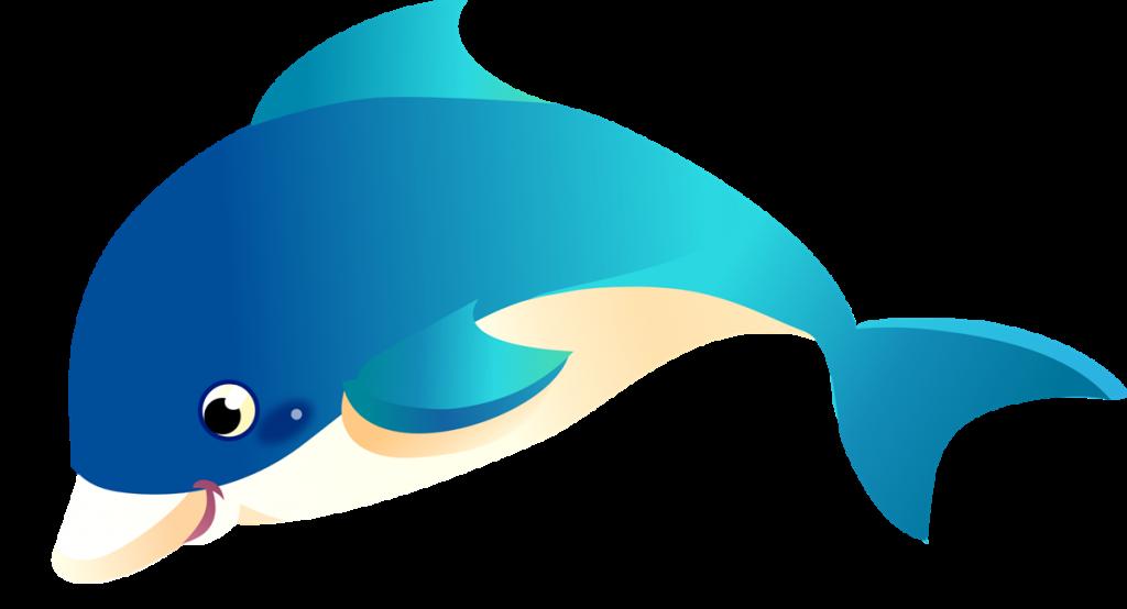 Cartoon Dolphin PNG HD - 124599