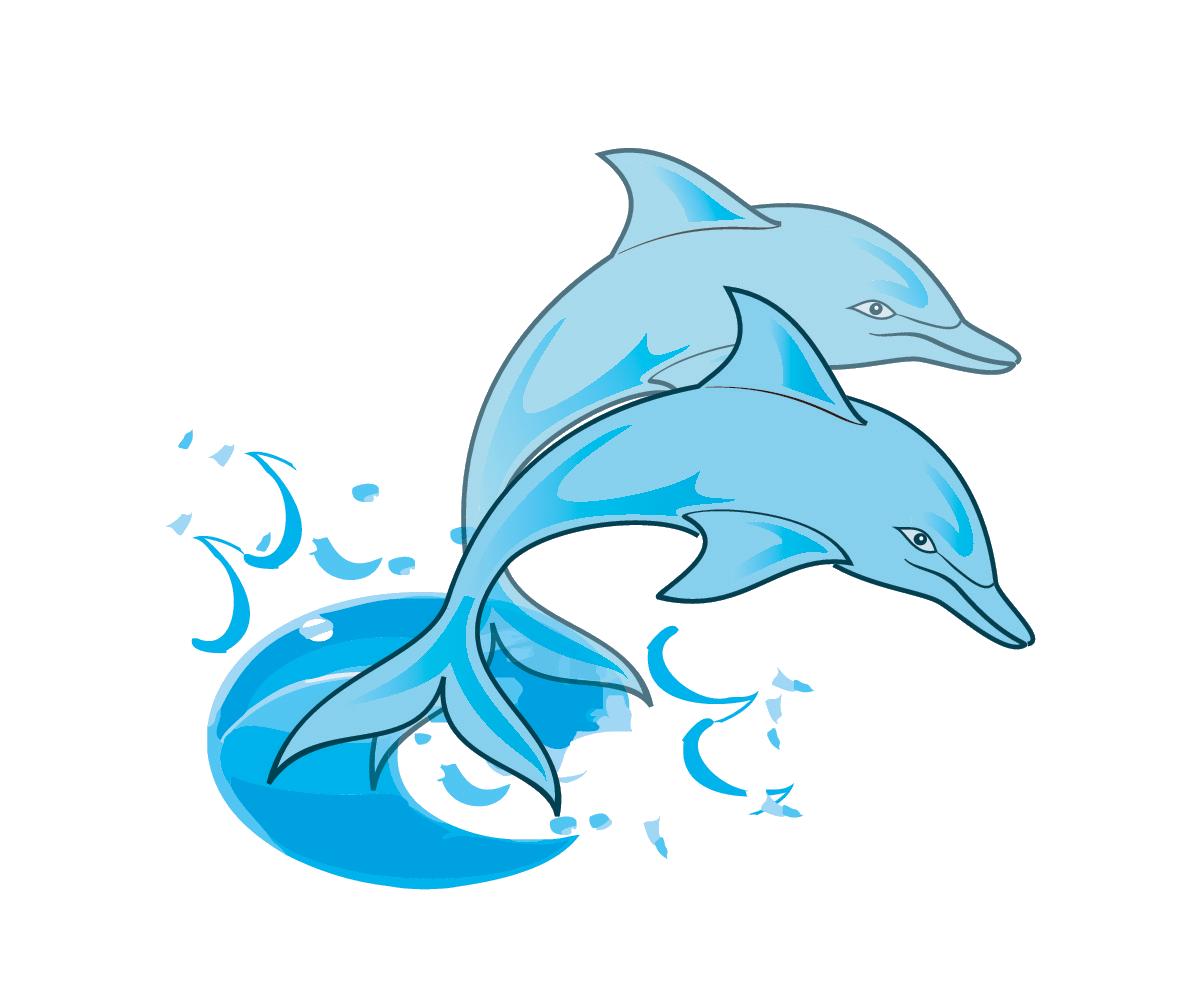 Cartoon Dolphin PNG HD - 124600