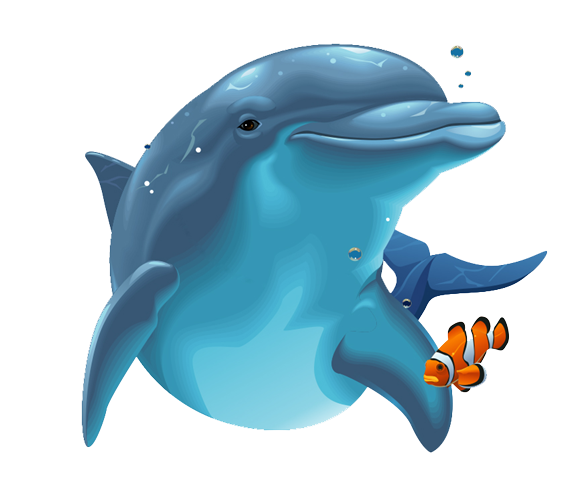 Dolphin PNG Image - Cartoon Dolphin PNG HD