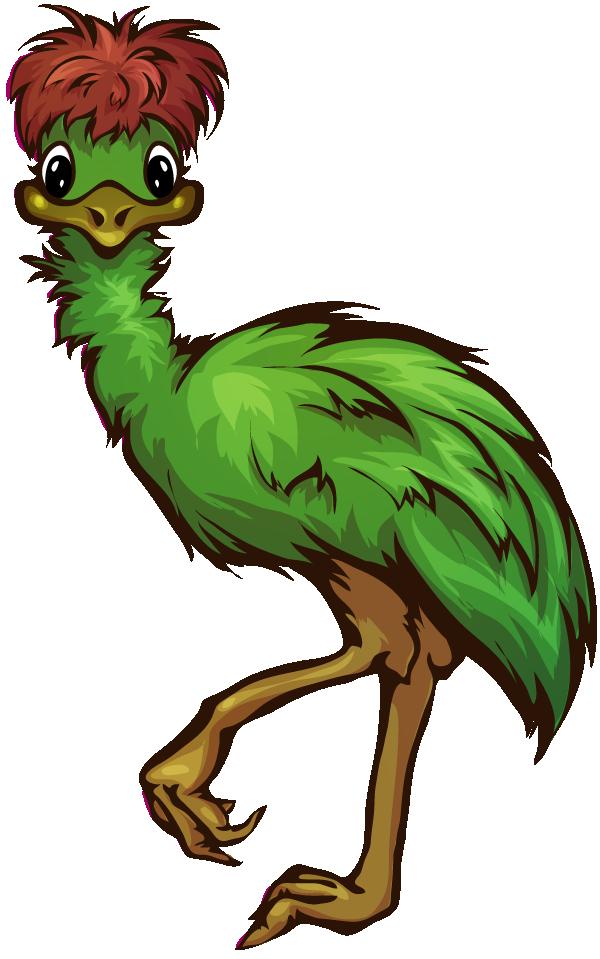 Cartoon Emu PNG - 64425