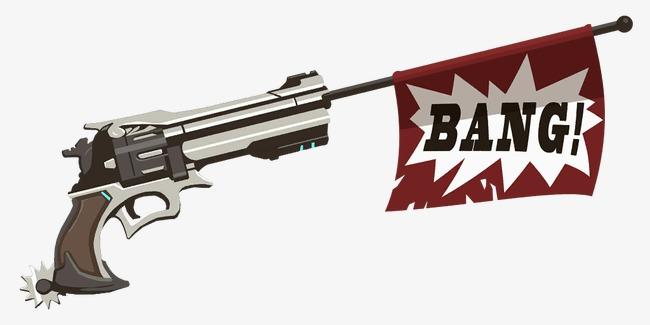 Cartoon Gun PNG - 161351