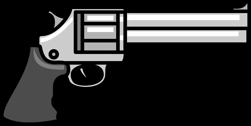 cartoon gun pistol shoot - Cartoon Gun PNG