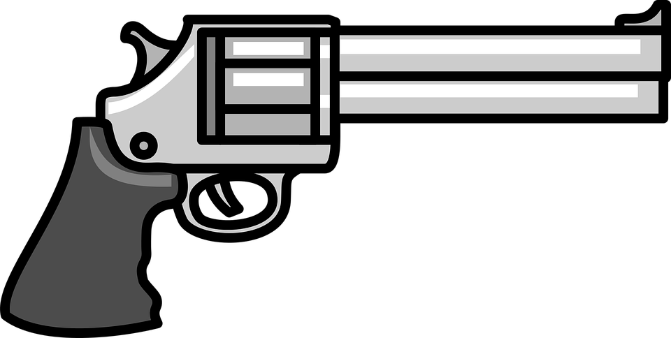 Cartoon Gun PNG - 161350