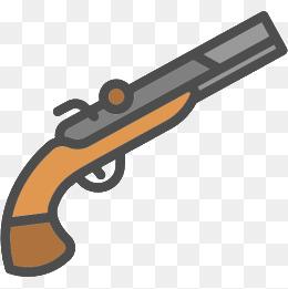 cartoon guns, Cartoon Guns, Hand-painted Guns, Cute Guns PNG and PSD - Cartoon Gun PNG