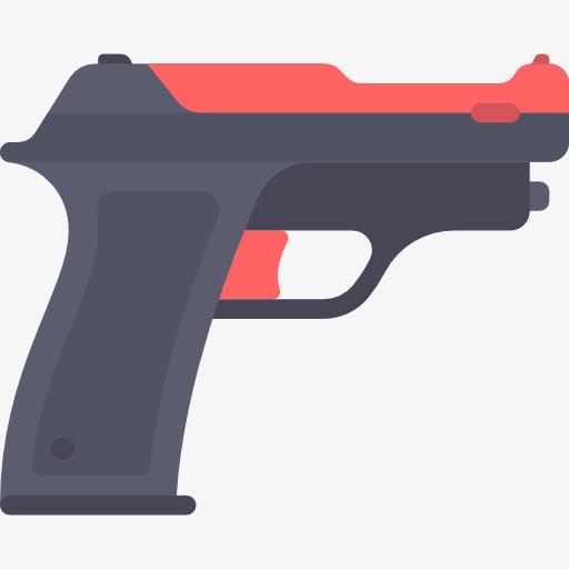 cartoon pistol, Military, Pistol, Cartoon PNG Image and Clipart - Cartoon Gun PNG