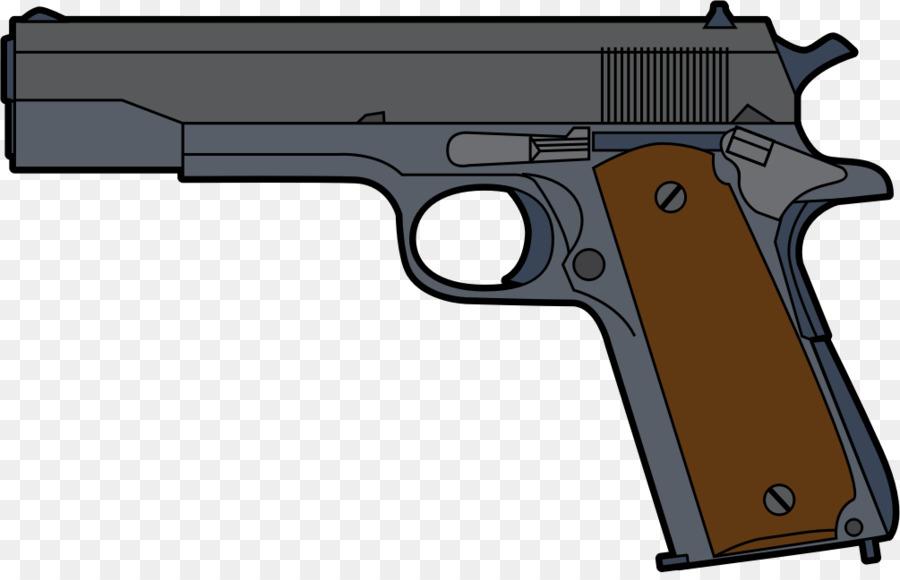 Pistol Firearm Clip Handgun Clip art - Cartoon Gun Cliparts 1005*640  transprent Png Free Download - Gun Accessory, Gun Barrel, Weapon. - Cartoon Gun PNG