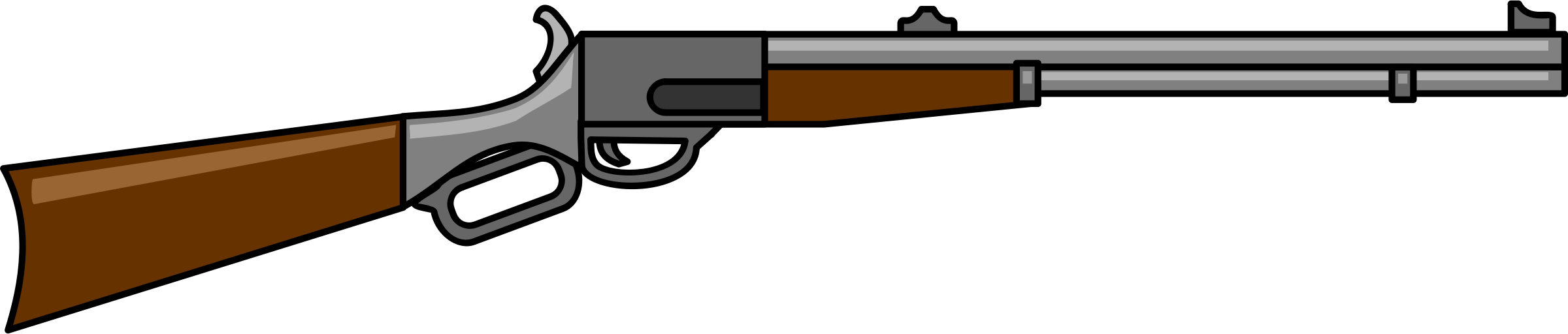 Cartoon Gun PNG - 161362