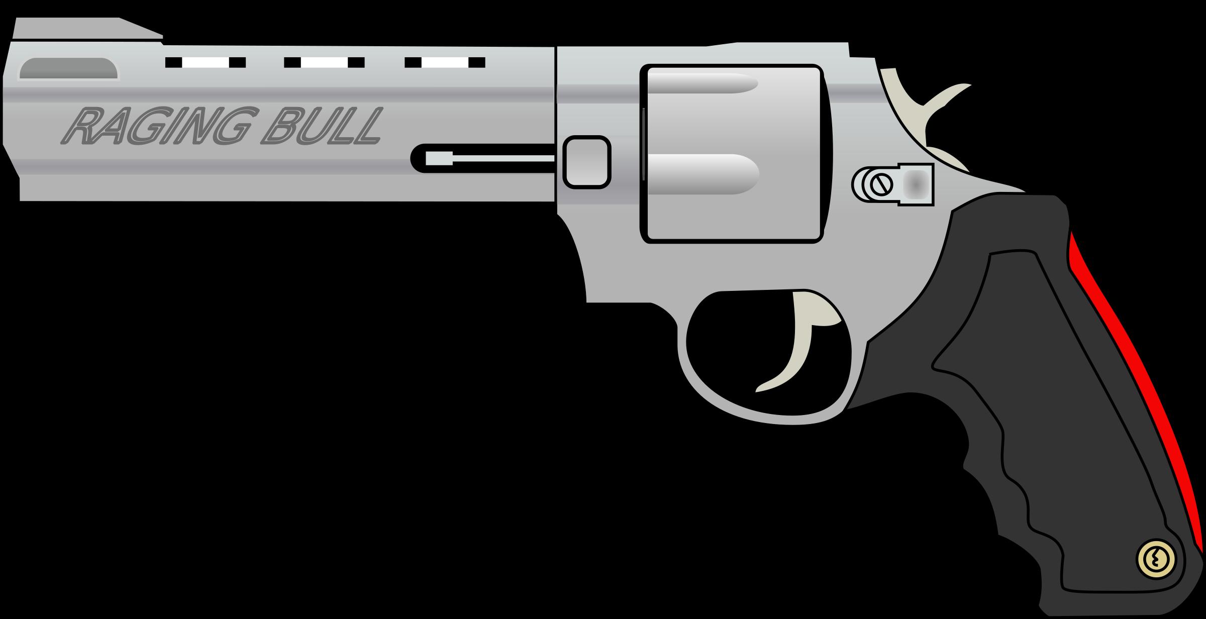 This free Icons Png design of Raging bull - gun PlusPng.com  - Cartoon Gun PNG