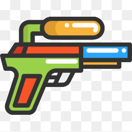 water gun, Cartoon, Water Gun, Toy PNG Image and Clipart - Cartoon Gun PNG
