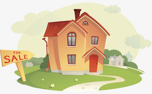 Cartoon illustration house sales, Cartoon, In Sales, Sale PNG Image and  Clipart - Cartoon Houses PNG HD