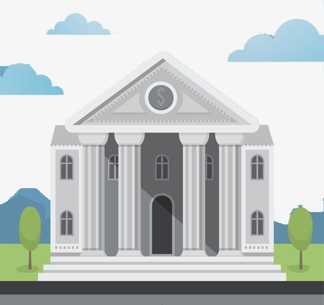 Flat Cartoon White House, Flat Cartoon, H5 Page Creatives, Promotions PNG  Image and - Cartoon Houses PNG HD