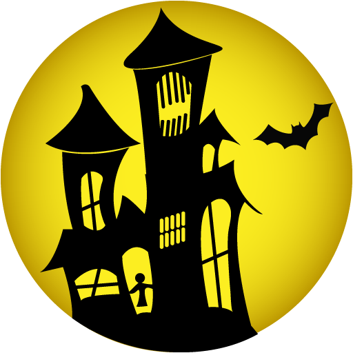 Halloween House PNG HD
