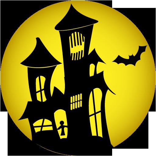 Halloween House PNG HD