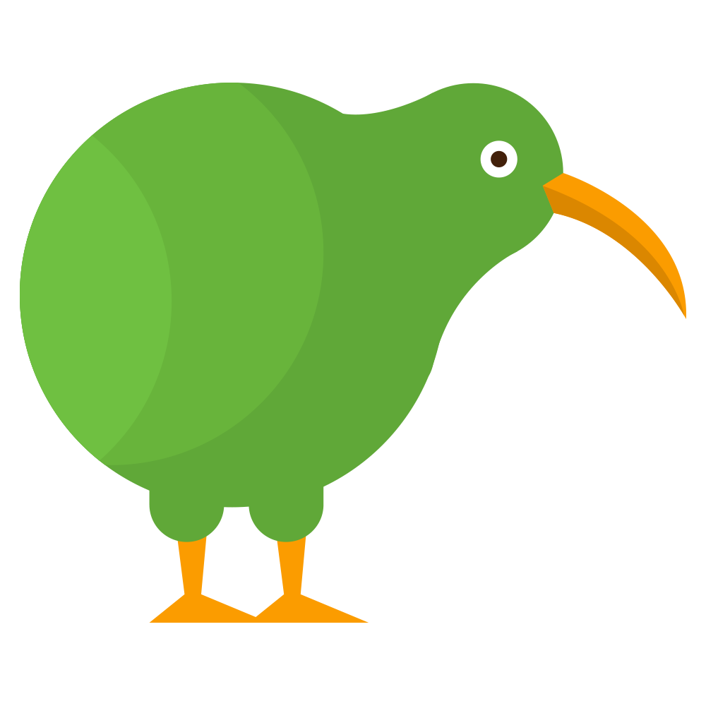 Cartoon Kiwi Bird PNG-PlusPNG.com-1000 - Cartoon Kiwi Bird PNG
