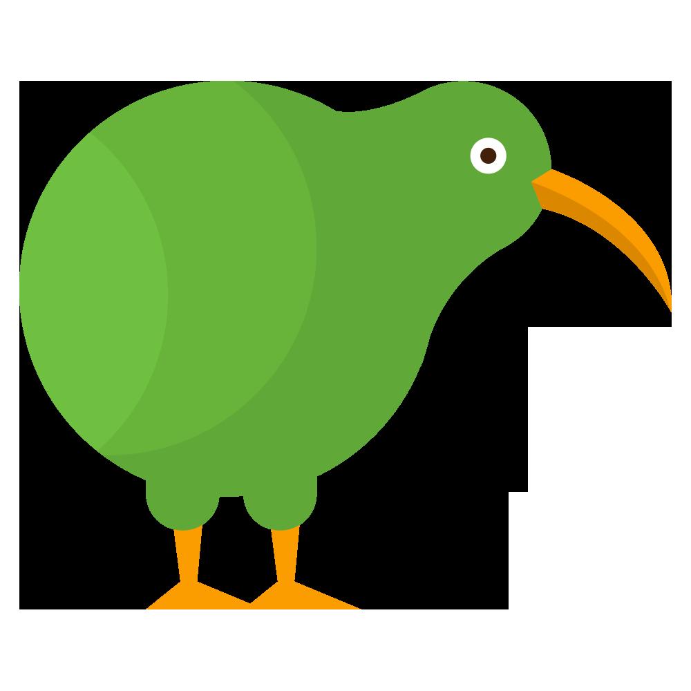 Cartoon Kiwi Bird PNG - 89041