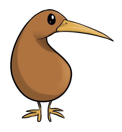 Cartoon Kiwi Bird PNG-PlusPNG.com-426 - Cartoon Kiwi Bird PNG