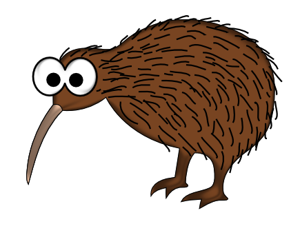 Cartoon Kiwi Bird PNG-PlusPNG.com-435 - Cartoon Kiwi Bird PNG