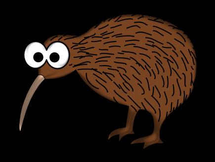 Cartoon Kiwi Bird PNG - 89033
