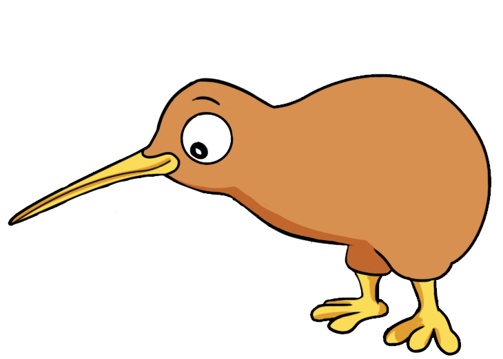 Cartoon Kiwi Bird PNG-PlusPNG.com-730 - Cartoon Kiwi Bird PNG