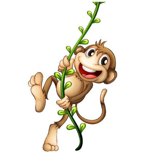 cartoon-monkey-image_6.png (600×600) | Cakes - Prints Animals | Pinterest |  Monkey and Clip art - Cartoon PNG