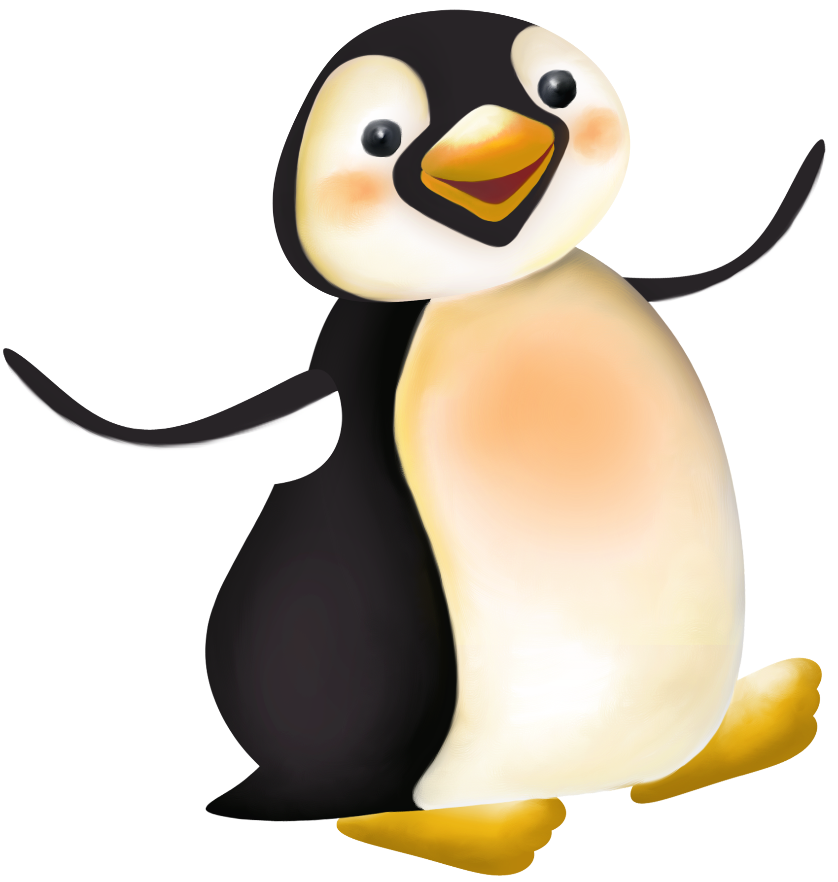 Large Penguin Cartoon PNG Clipart - Cartoon PNG