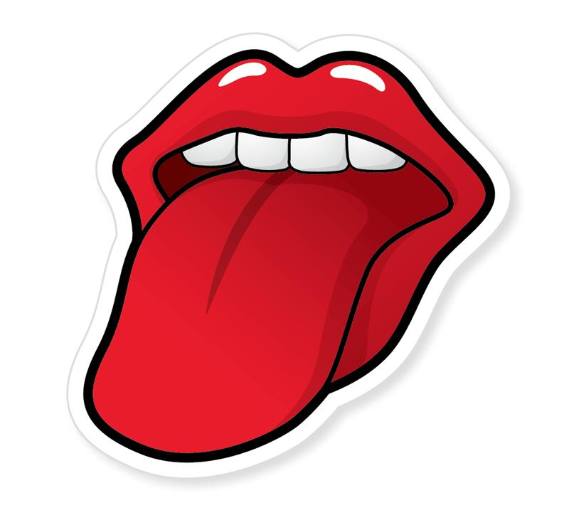 Cartoon Tongue PNG - 59902