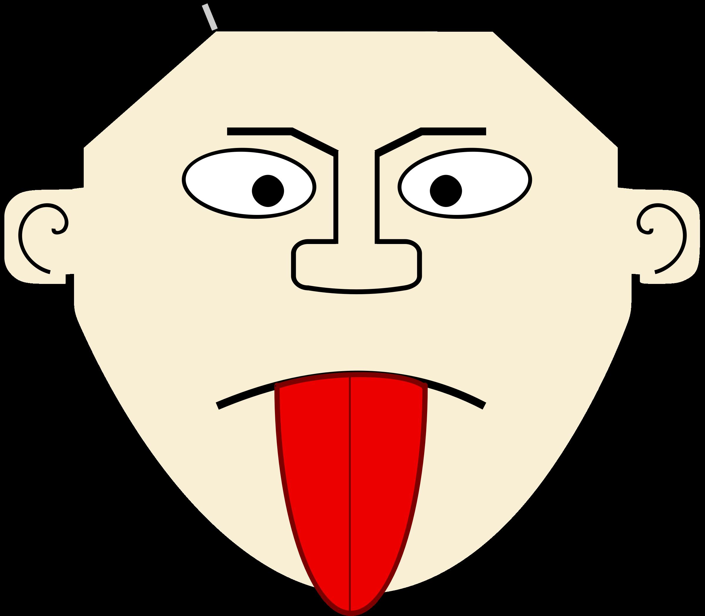 Cartoon Tongue PNG - 59912