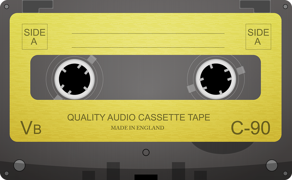 Audio Cassette, Cassette Tape, Audio - Casette HD PNG