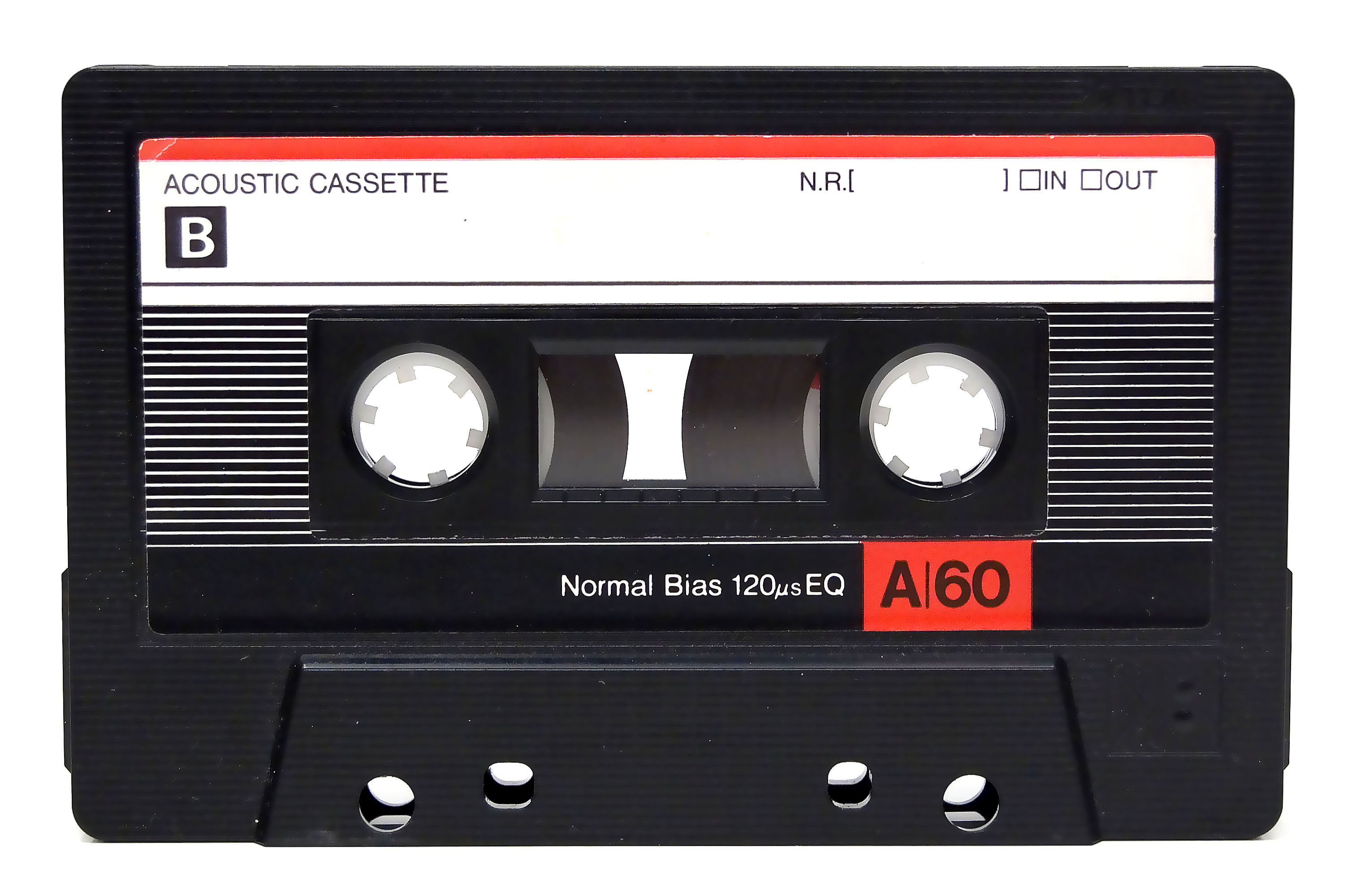 Audio Cassette Tape, 1993. - Casette HD PNG