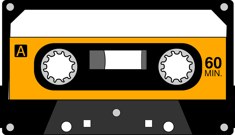 Cassette, Music Format, Recording, Tape - Casette HD PNG
