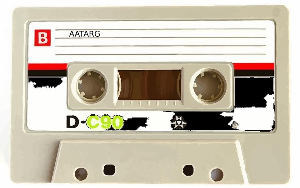 Cassette, Tape, Recorder, Vintage, Old - Casette HD PNG