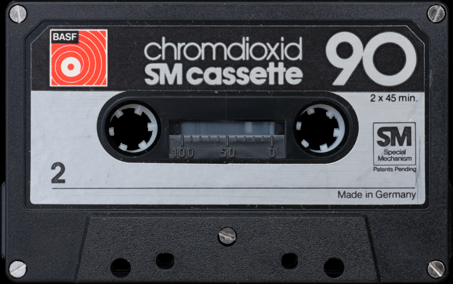 Compact Cassette II by wizardhat PlusPng.com  - Casette HD PNG