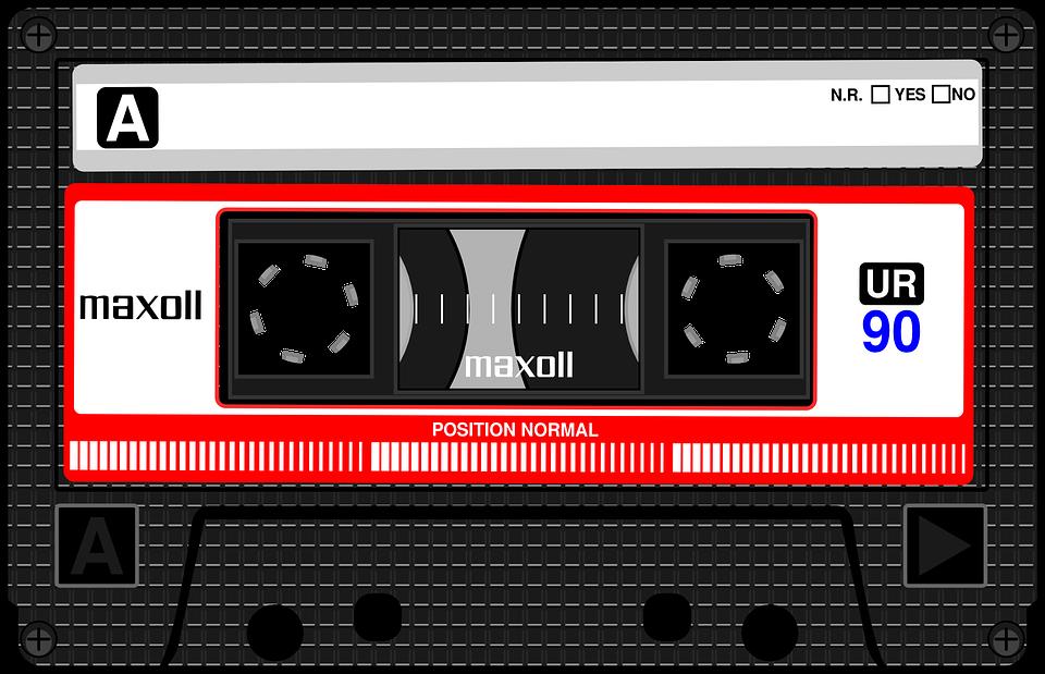Compact Cassette, Musicassette, Mc - Casette HD PNG
