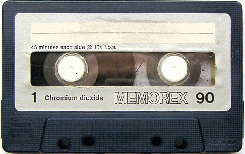 You know THIS Memorex? - Casette HD PNG