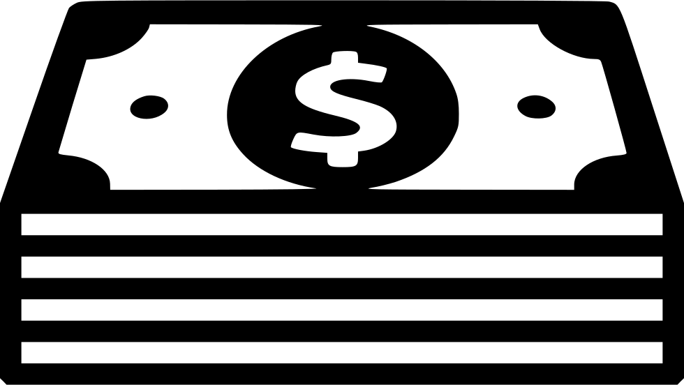 cash png black and white transparent cash black and white