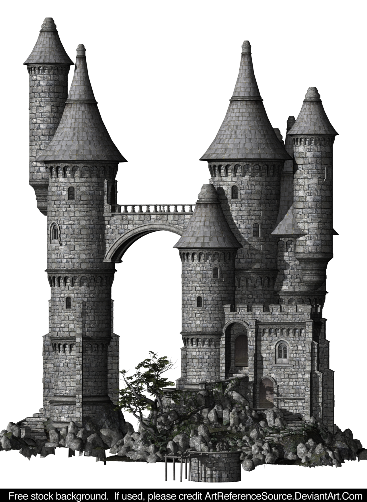 . PlusPng.com ArtReferenceSource Free Stock: Castle PNG by ArtReferenceSource - Castle PNG